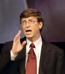 Bill Gates na IT Forum v Dánsku (2004)